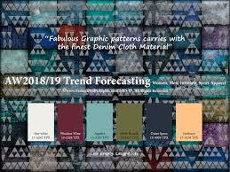 Pantone Canvas Gallery Aw2018 2019 Trend Forecasting On Pantone Canvas Gallery And Also