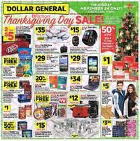 dollar general black friday 2017
