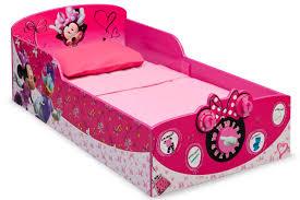 Minnie Mouse Toddler Bed Frame Delta Children Minnie Mouse Toddler Bed Reviews Wayfair