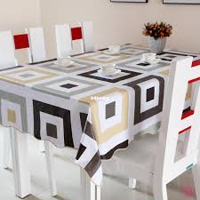 Dining Room Linens Pvc Table Cloth Plastic Disposable Waterproof Dining Table Cloth