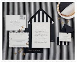 black and white striped wedding invitations this and will probably something similar b w stripes