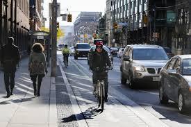 lexus dundas street toronto readers have their say on bike lanes in toronto toronto star