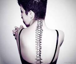 60 glossy spine tattoos for back
