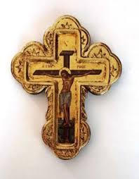 russian orthodox crosses vintage made orthodox metal cross desk crucifix