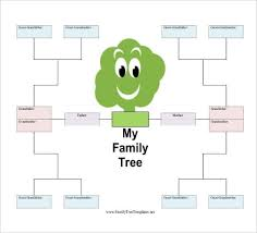 Free Family Tree Template Excel Free Family Tree Template Ebook