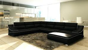 canap design noir et blanc articles with canape d angle cuir noir et blanc tag canape cuir