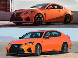 lexus rcf hercules with heavy discount 2016 lexus rc f and gs f youwheel