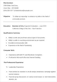 free resume samples for students u2013 topshoppingnetwork com