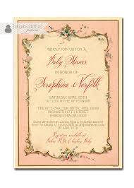 appealing baby shower invitations 65 on vintage baby
