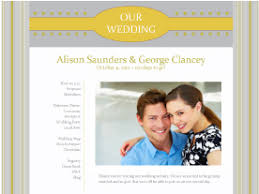 our wedding website free wedding websites dozens of designs to choose from