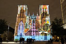 san fernando cathedral light show day trips san antonio the saga multimedia show paints san