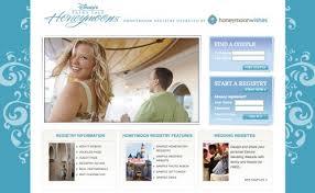 vacation registry wedding disney weddings series disneys fairytale honeymoon registry