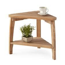 corner wedge lift top coffee table terrel teak outdoor corner table wish coffee 15 kouch info corner
