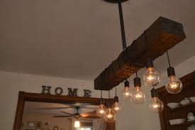 Farm Chandelier Farm House Light Pendant Lighting Wood Light Kitchen