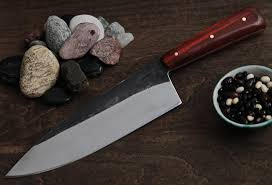 wood handle kitchen knives chef s knife serenity knives