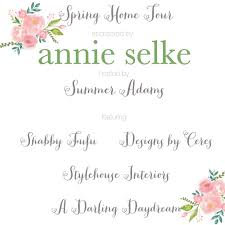 Annie Selke Spring Home Tour Coastal Style At The Beach Shabbyfufu