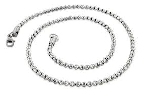 round chain necklace images Stainless steel 16 quot round box chain necklace 3 5 mm gif