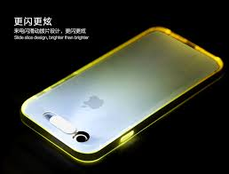 rock apple iphone 6 plus 6s plus led light soft