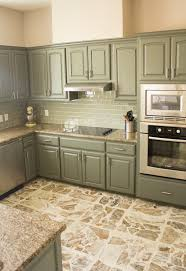 Our Exciting Kitchen Makeover Before And After Building - Green cabinets kitchen