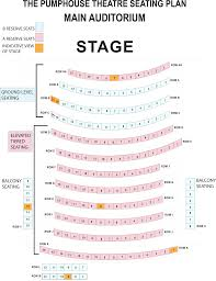 theatre floor plan where to sit at the pumphouse theatre in takapuna auckland