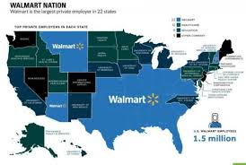 best states to work in the largest employer in each state neatorama