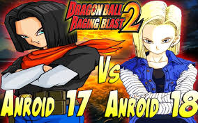 android 17 and 18 z what if story android 17 vs android 18 raging