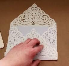 laurl designs basic paper doily envelope liner for wedding