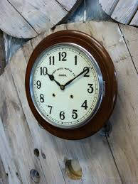 antiques atlas anglo swiss railway wall clock