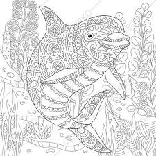 ocean coloring pages adults cecilymae
