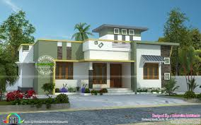 Sq Ft Single Story House Plan Unbelievable Simple Home June Kerala