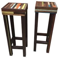 Pub Bar Stools handcrafted staggered wood pub table bar stools rustic bar