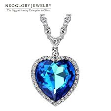 heart necklace from titanic images Neoglory big austrian crystal titanic heart necklaces vedrocks jpg