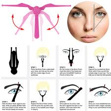 aliexpress com buy professional plastic eyebrow template