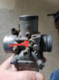 old polaris 250 2 stroke carb missing the oil intake polaris