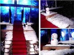 snow decoration snow make stunning artificial snow decorations for the