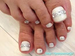 best 25 bridal toe nails ideas only on pinterest french
