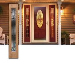 Exterior Door With Side Lights Painted Front Doors With Side Panels Search Front Doors