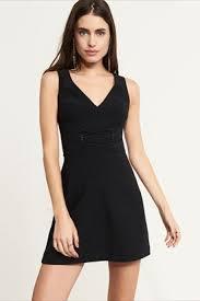 Long Sleeve Black Fit And Flare Dress Women U0027s Dresses U0026 Jumpsuits Perfect Everywhere Dynamite
