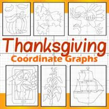 thanksgiving gobble gobble a coordinate graphing activity