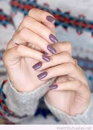 lovely purple grey nail polish nails to try pinterest grey