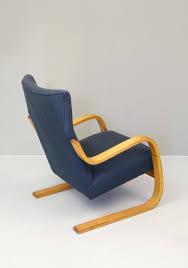 model 402 401 armchair by alvar aalto for rakennustyötedas oy