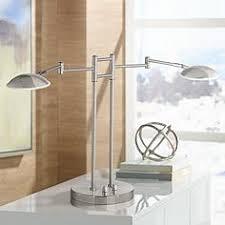 Brushed Steel Desk Lamp Brushed Steel Desk Lamps Lamps Plus