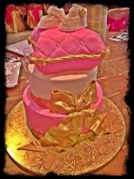 pink and gold baby shower pink gold baby shower cakecentral