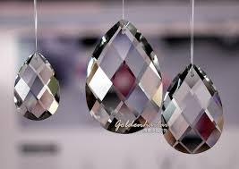 Chandelier Parts Crystal Swedish Cut Almond Prism Pear Shape Chandelier Parts Finest