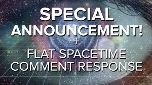 special announcement flat spacetime geometry comments space