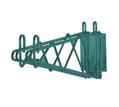 Wall Mount Wire Shelving Wall Mounted Wire Shelving Brackets And Kits Culinary Depot