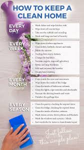 cleaning tips how to keep a clean home handy planner and list cleaning tips