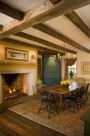 Colonial Style Homes Interior by This Would Make For A Cozy Gathering Area Around The Fireplace