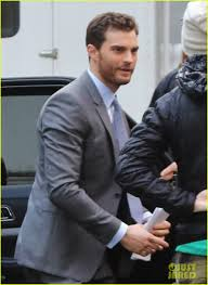 man holding martini jamie dornan seen on u0027fifty shades darker u0027 set for first time