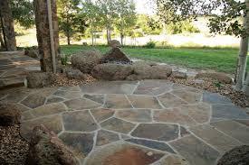 Stone Patio Design Flagstone Patio Designs Gardensdecor Com